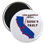 "Bush's Fault 2.25"" Magnet (10 pack)"