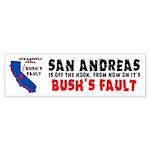 Bush's Fault Sticker (Bumper 50 pk)