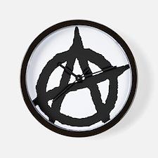 Unique Anarchism Wall Clock