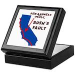 Bush's Fault Keepsake Box