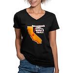 Bush's Fault Women's V-Neck Dark T-Shirt