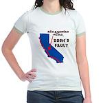 Bush's Fault Jr. Ringer T-Shirt