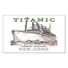 Titanic Neon (white) Decal