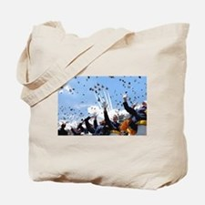 Thunderbirds Over Academy Tote Bag