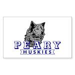 Husky Logo Sticker