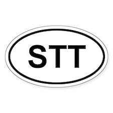 St. Thomas, USVI STT Bumper Stickers