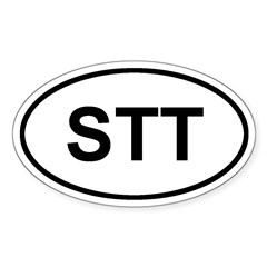 St. Thomas, USVI STT Decal