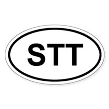 St. Thomas, USVI STT Decal