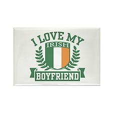 I Love My Irish Boyfriend Rectangle Magnet