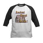Abu Simbel Rocks Kids Baseball Jersey