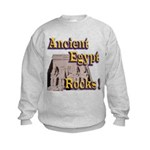 Abu Simbel Rocks Kids Sweatshirt