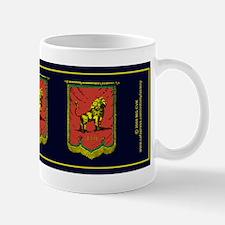 Reggae Jah Lion Banner Mug
