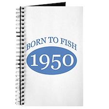 1950 Born To Fish Journal