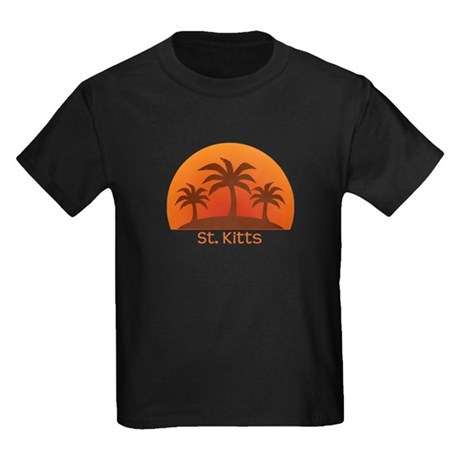 St. Kitts Kids Dark T-Shirt