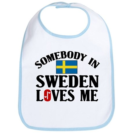 Somebody In Sweden Bib