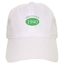 1940 Born To Golf Baseball Cap