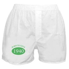 1940 Born To Golf Boxer Shorts
