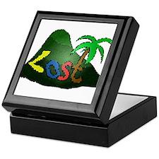 """""""Lost"""" Island Keepsake Box"""