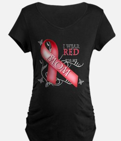 I Wear Red for my Mom T-Shirt