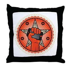 Rise Up Revolution Throw Pillow