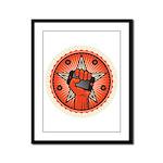 Rise Up Revolution Framed Panel Print