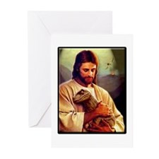 And On The 8th Day Greeting Cards (Pk of 20)