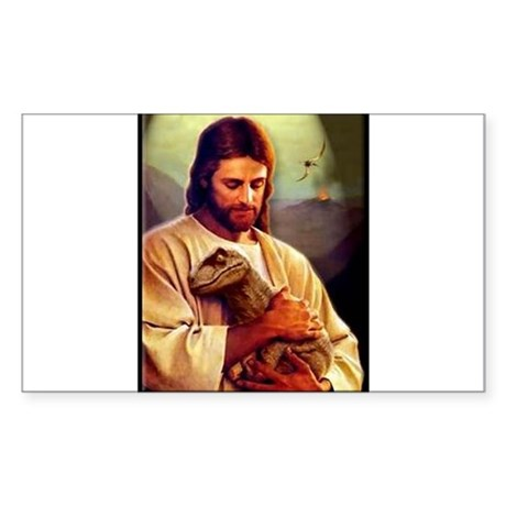 And On The 8th Day Sticker (Rectangle 10 pk)