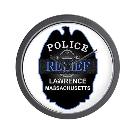 Lawrence Police Relief Associ Wall Clock