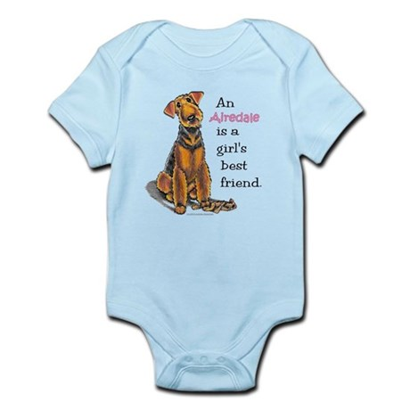 Airedale Terrier Lover Infant Bodysuit