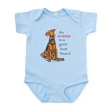 Airedale Terrier Lover Infant Bodysuit