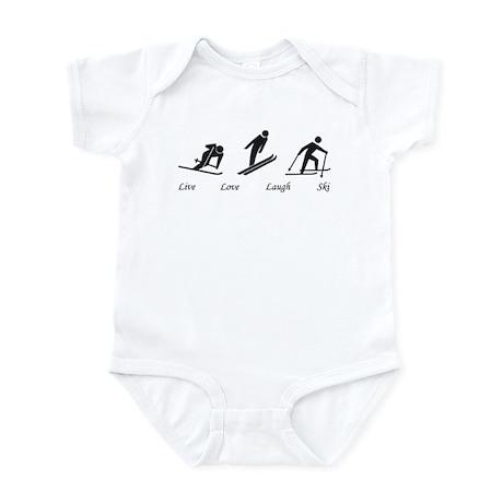 Live Love Laugh Ski Infant Bodysuit
