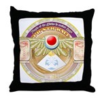 PrNtrKmt Throw Pillow