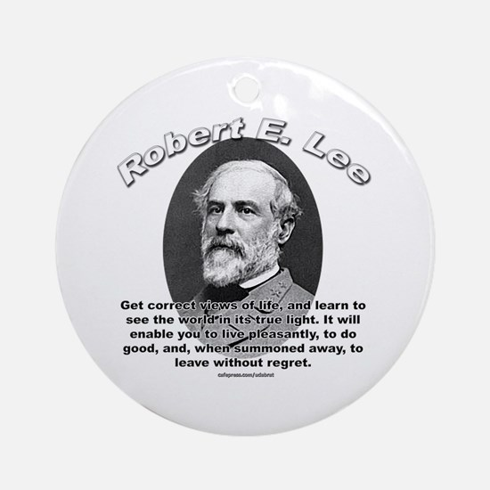 Robert E. Lee 01 Ornament (Round)