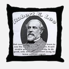 Robert E. Lee 01 Throw Pillow