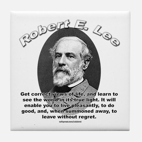 Robert E. Lee 01 Tile Coaster
