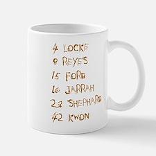4 8 15 16 23 42 Names Mug