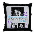 Cottongim. R. Throw Pillow