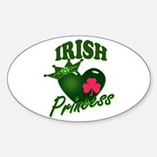 Irish Princess Sticker (Oval)
