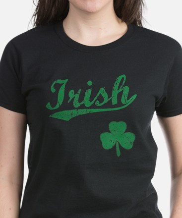 Irish Sports Style Women's Dark T-Shirt