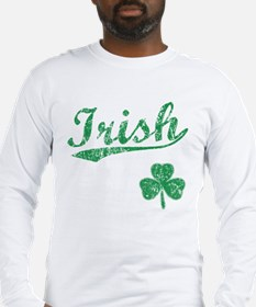 Irish Sports Style Long Sleeve T-Shirt