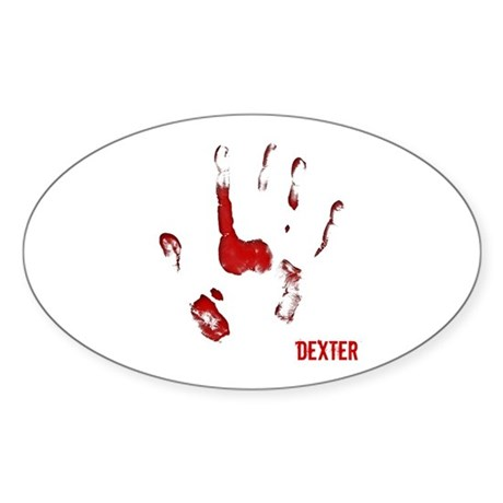 Dexter Sticker (Oval)