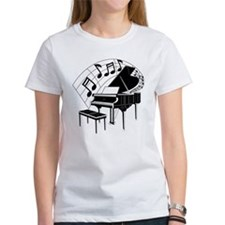 Grand Piano Notes Tee