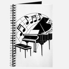 Grand Piano Notes Journal