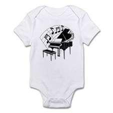 Grand Piano Notes Infant Bodysuit