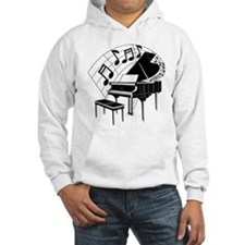 Grand Piano Notes Hoodie