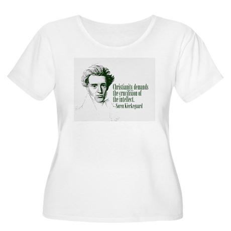 Kierkegaard on Christianity Women's Plus Size Scoo