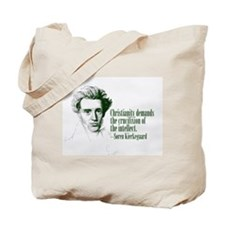 Kierkegaard on Christianity Tote Bag