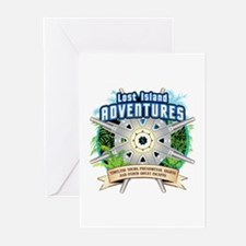 Lost Island Adventures Greeting Cards (Pk of 10)
