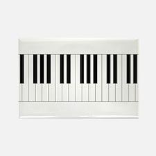 Piano Keys Rectangle Magnet