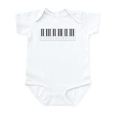 Piano Keys Infant Bodysuit